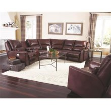 LAF Single Seat Recliner with Power Headrest