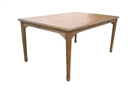 Dining Table, Available in Antique Palm Finish Only.