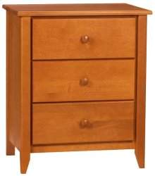 Rossport 3 Drawer Night Stand