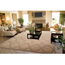 Silken Allure Slk23 Sand Rectangle Rug 8'6'' X 11'6''