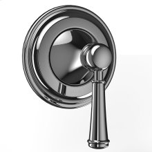 Vivian Three-Way Diverter Trim with Off - Lever Handle - Polished Chrome Finish