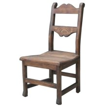 Tuscan Chair W/Wood Seat