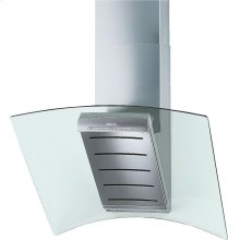DA 289-4 Flyer AM Wall ventilation hood with dimmable halogen lighting and light-touch switches for easy operation.