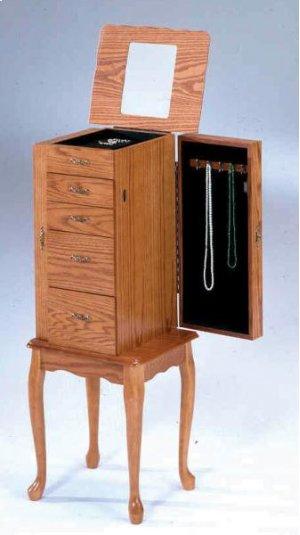 7201  Oak Jewelry Armoire (Small)