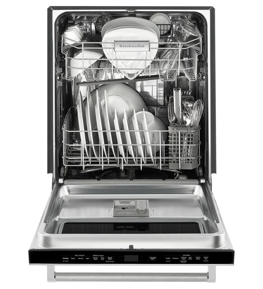 Kitchenaid canada model kdtm384ess caplan 39 s - Dishwasher with stainless steel interior ...
