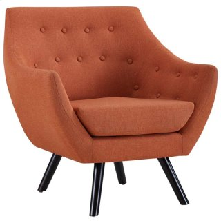 Allegory Armchair in Orange