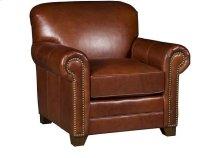 Annika Leather Chair, Angelina Leather Ottoman