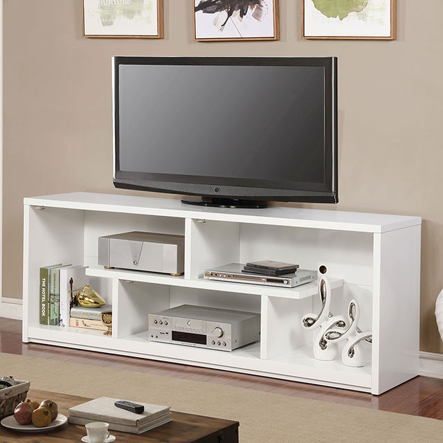 CM5044WHTV In By Furniture Of America In Statesboro, GA   Lommel Tv Stand