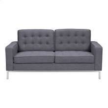 Armen Living Chandler Contemporary Loveseat