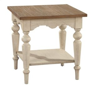 Sutton's Bay Square Lamp Table