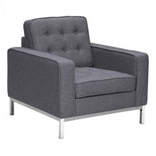 Armen Living Chandler Contemporary Sofa Chair