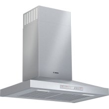 300 Series wall-mounted cooker hood 30'' Stainless steel HCP50652UC