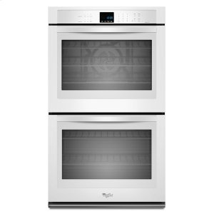Gold(R) 10 cu. ft. Double Wall Oven with True Convection Cooking - WHITE