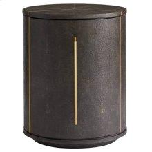 Panavista Sundial Drum Table in Sable