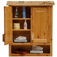 Toilet Topper Cabinet - Natural Cedar