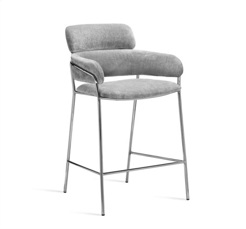 Marino Bar Stool - Ocean Grey