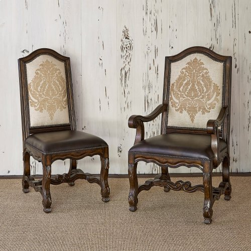 Avignon Side Chair - Abramo Toast