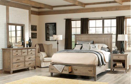Brownstone Village Storage Panel Bed King