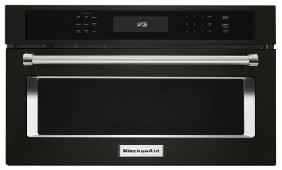 """30"""" Built In Microwave Oven with Convection Cooking - Black Stainless Product Image"""