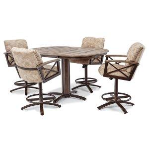 Peachy Ms626Ochromcraft Stool Base 26 Counter Height Eklunds Bralicious Painted Fabric Chair Ideas Braliciousco