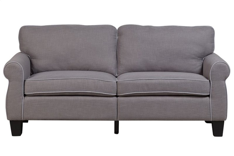Ashwell Gray Sofa Love Chair Swu9876