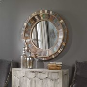 Jeremiah Round Mirror Product Image