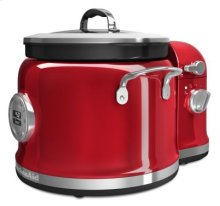 Multi-Cooker with Stir Tower Accessory - Candy Apple Red
