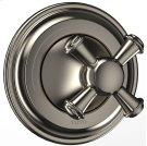 Vivian™ Two-Way Diverter Trim - Cross Handle - Brushed Nickel Product Image
