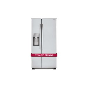 LG Appliances22 cu. ft. Side-by-Side Refrigerator