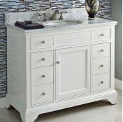 "Framingham 42"" Vanity - Polar White Product Image"