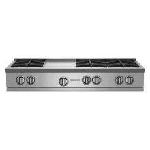 """48"""" RNB Rangetop with 12"""" Griddle"""