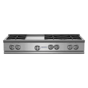 "Bluestar48"" RNB Rangetop with 12"" Griddle"