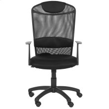 Shane Desk Chair - Black