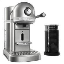 Nespresso® Espresso Maker by KitchenAid® with Milk Frother - Sugar Pearl Silver