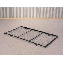 Traditional Black Trundle Bed Frame