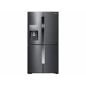 Samsung23 cu. ft. Counter Depth 4-Door Flex™ Refrigerator with FlexZone™ in Black Stainless Steel