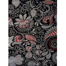 Dallas Bandanna Black Rugs