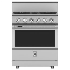 "Hestan30"" 4-Burner Dual Fuel Range - KRD Series - Steeletto"