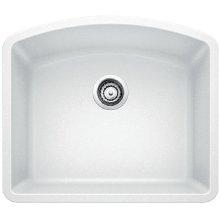 Blanco Diamond Single Bowl - White