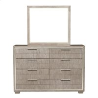 Contemporary Eight Drawer Dresser Product Image