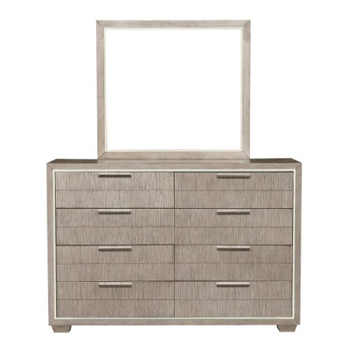 Contemporary Eight Drawer Dresser