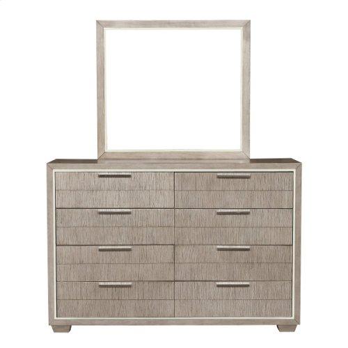 Contemporary Eight Drawer Dresser