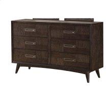 Millennium - 6 Drawer Dresser-weathered Oak Finish