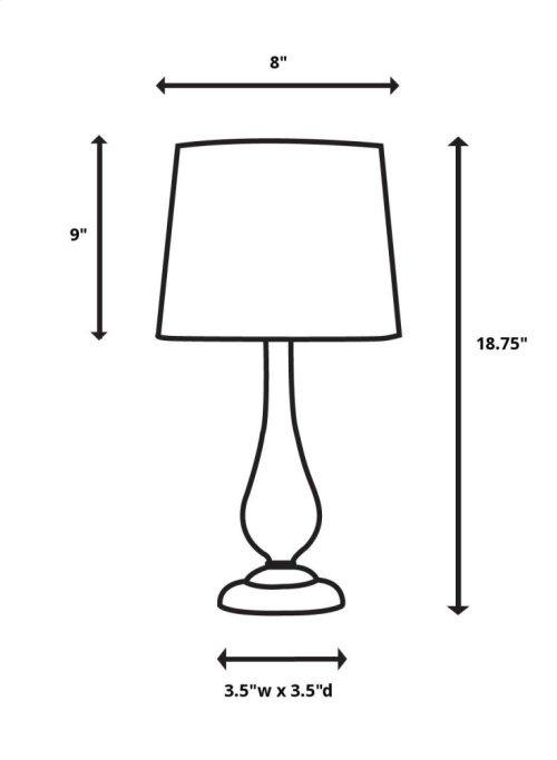 Anubis Accent Lamp