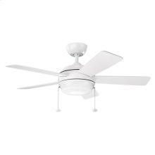 "Starkk Collection 42"" Starkk LED Ceiling Fan MWH"