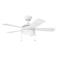 "Starkk Collection 42"" Starkk LED Ceiling Fan MWH"