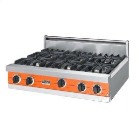 "Pumpkin 36"" Sealed Burner Rangetop - VGRT (36"" wide, six burners)"