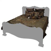 Lolita Rayon Green 9 Pc Comforter Set