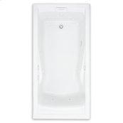 Evolution 60x36 inch Deep Soak EverClean Whirlpool - White