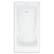 Evolution 60x36 inch Deep Soak EverClean Whirlpool - White